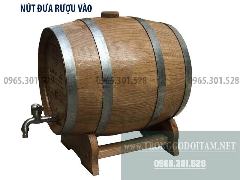 Địa chỉ mua thùng gỗ sồi ủ rượu chất lượng tại Hà Nội và TP Hồ Chí Minh