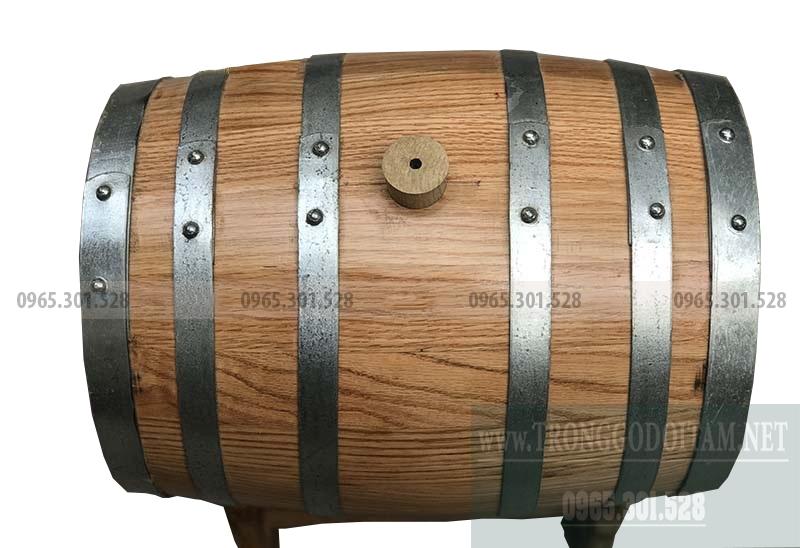 giá thùng gỗ sồi ngâm rượu, chuẩn gỗ sồi đỏ nhập khẩu mỹ