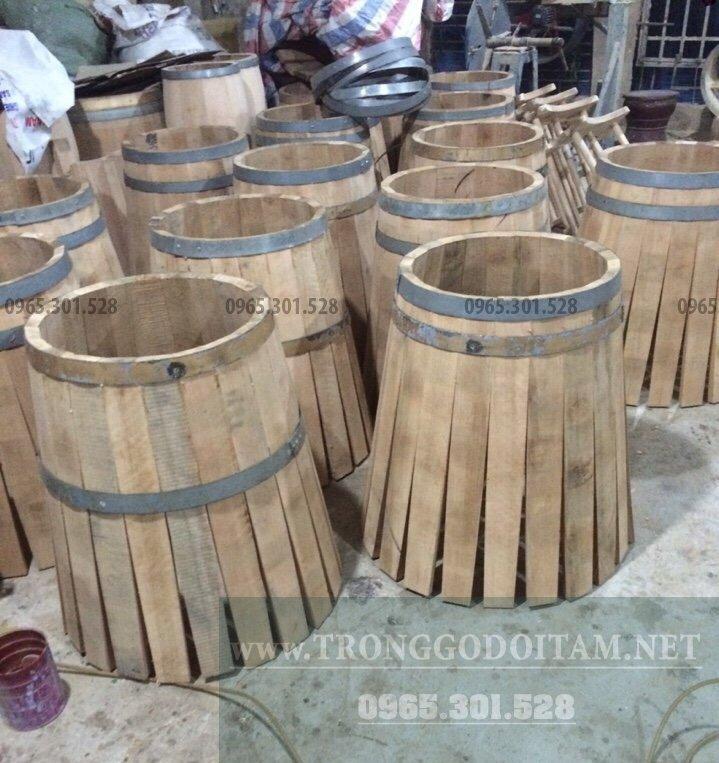 mua thùng gỗ sồi ngâm rượu ở đâu
