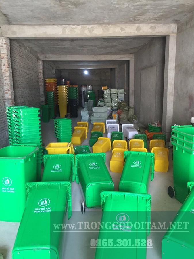 đại lý mua bán thùng rác nhựa
