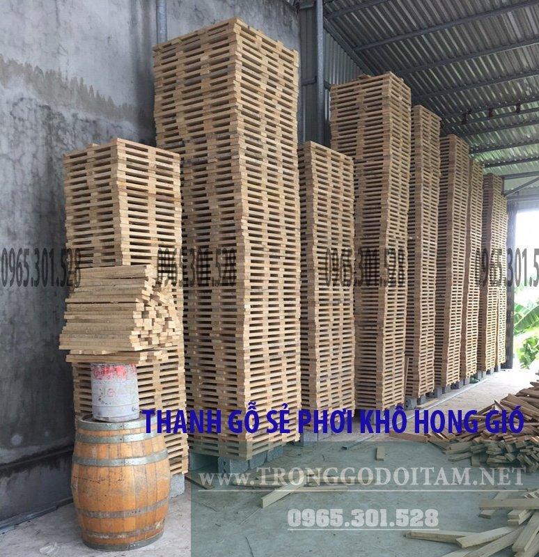 Nguyên liệu gỗ Sồi được chuẩn bị kỹ qua nhiều quá trình khắt khe