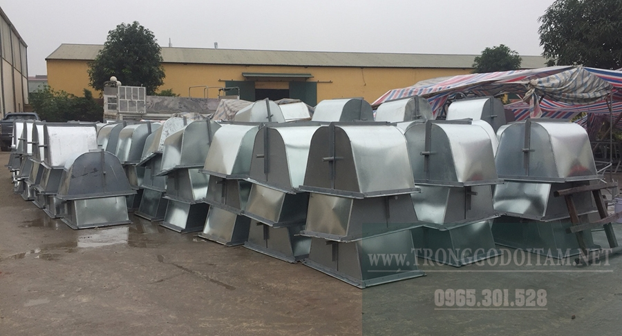 nhà máy sản xuất xe thu gom rác