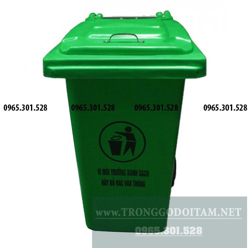 thùng đựng rác nhựa 120 lít