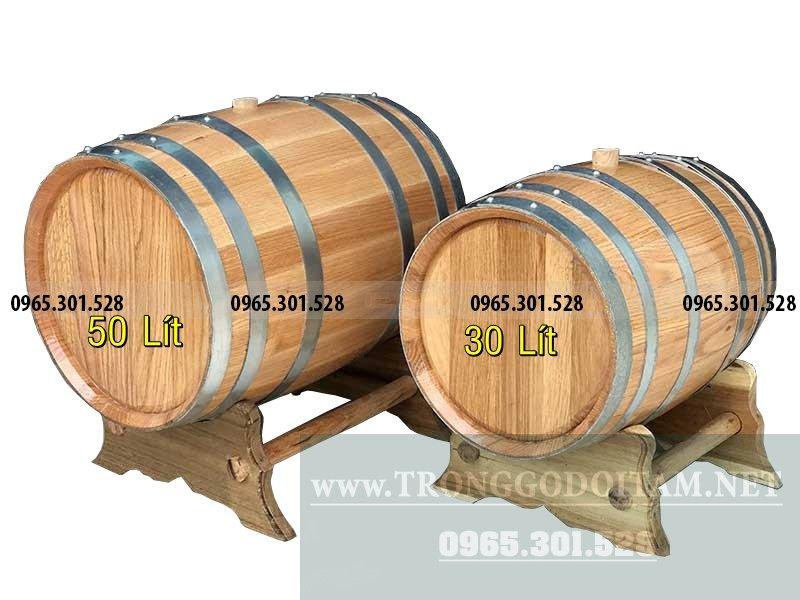 bán thùng đựng rượu gỗ sồi mỹ, cam kết chuẩn 100%