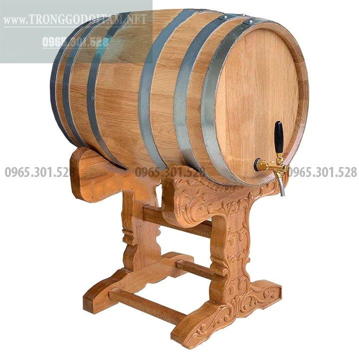 bán thùng gỗ sồi đựng rượu vang chuẩn chất lượng