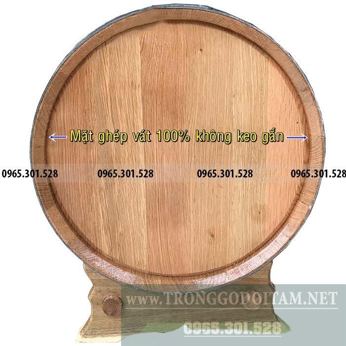 Thùng gỗ Sồi nhập khẩu đóng tại Việt Nam, chất lượng không hề thua kém