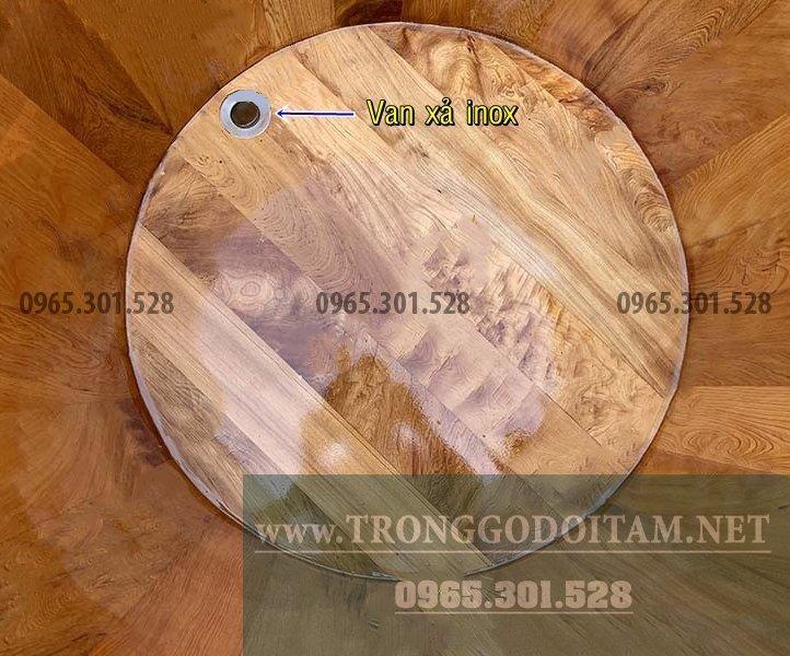 Bồn tắm gỗ dùng để ngâm tắm thuốc bắc, tắm thảo dược