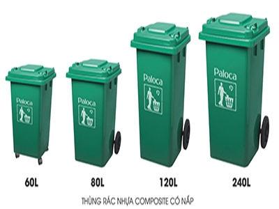 thùng rác nhựa công nghiệp composite