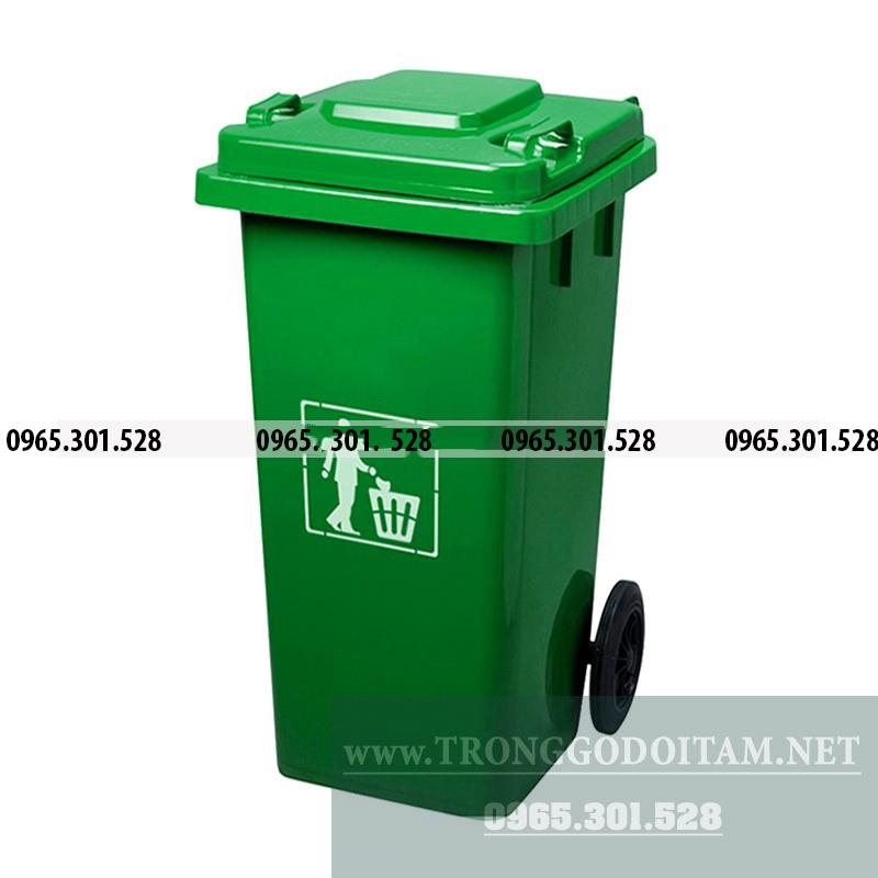 địa chỉ uy tín bán thùng rác nhựa 120 lít composite
