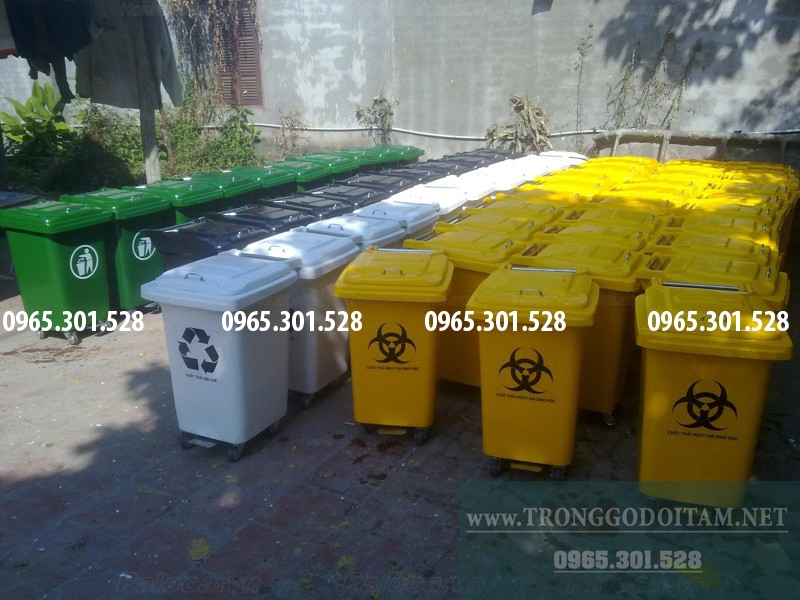 xưởng sản xuất thùng rác nhựa