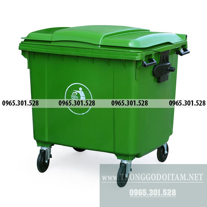đia chỉ uy tín mua thùng rác nhựa 660l giá rẻ
