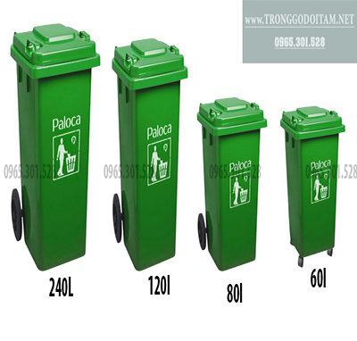giá thùng rác nhựa hdpe