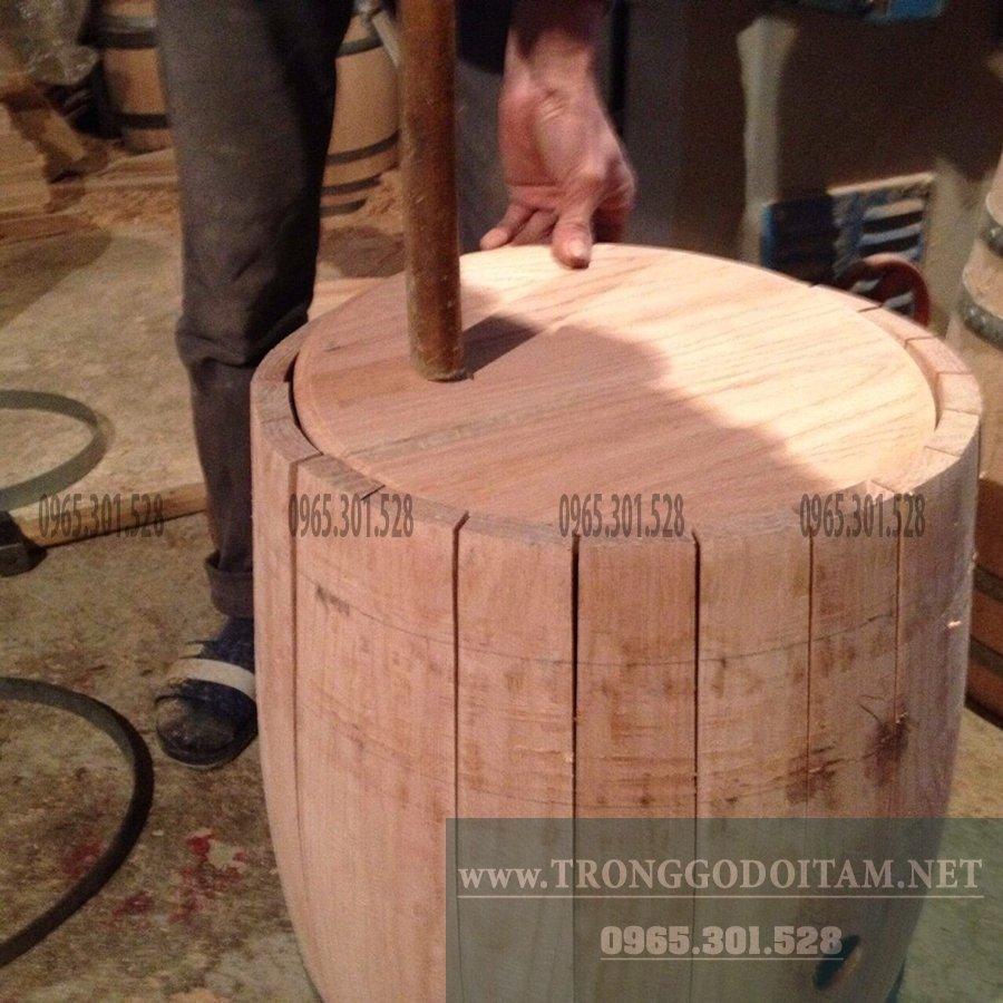 địa chỉ mua thùng ủ rượu gỗ sồi