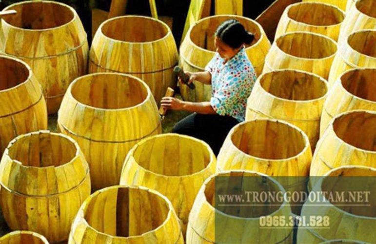 Cơ sở sản xuất trống trường học Đọi Tam