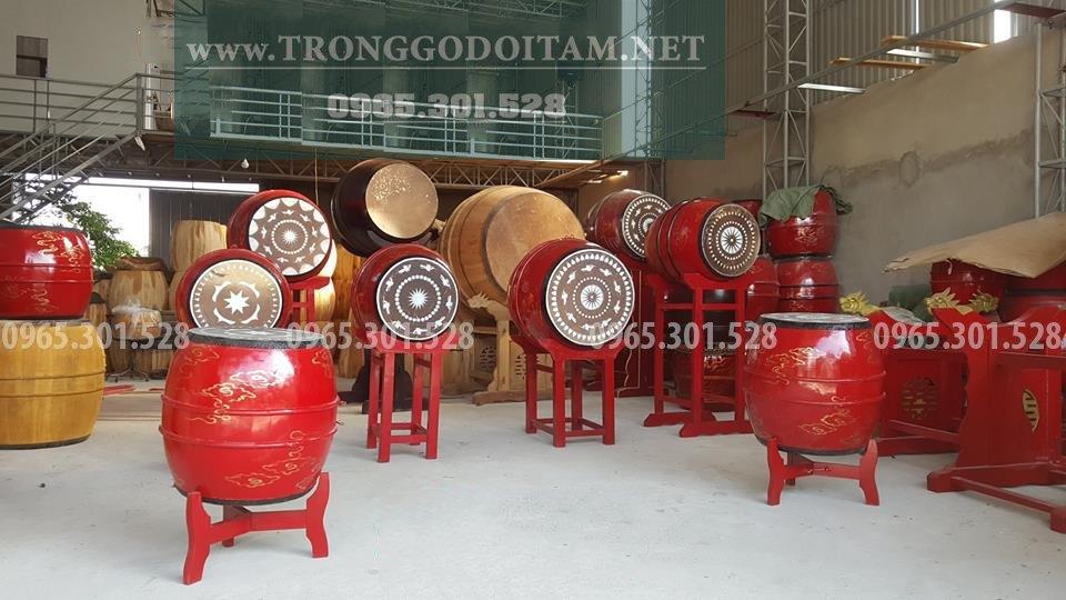 Bán trống gỗ Đọi Tam chuẩn chất lượng