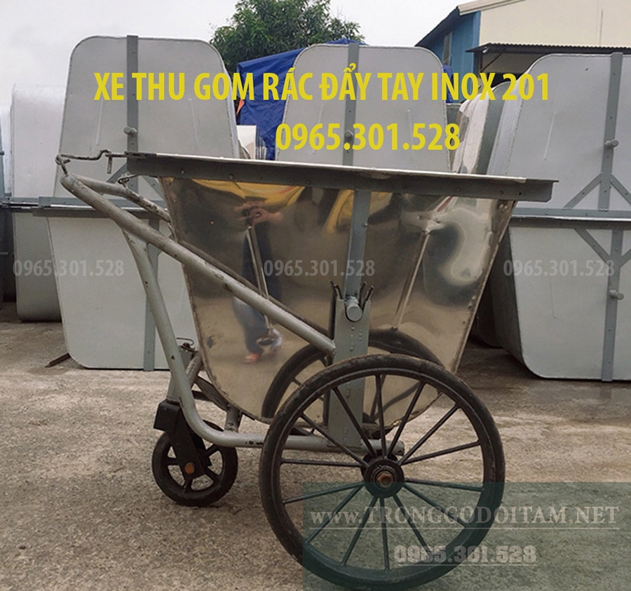 bán xe thu gom rác 400 lít , xe thu gom rác thải đường phố
