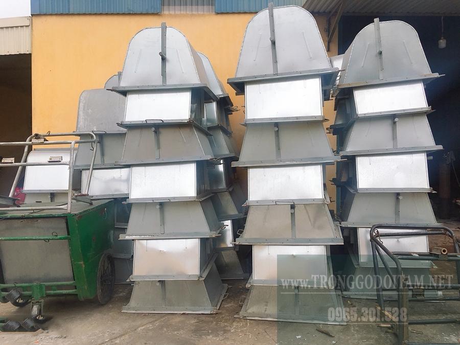 xưởng xe gom rác 400l