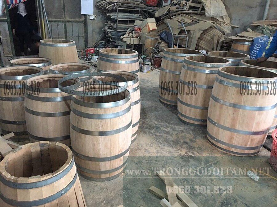 xường đóng thùng gỗ sồi đỏ Uy Tín - Chất lượng