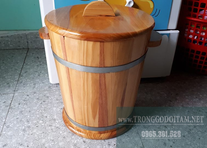 mua thùng gỗ đựng gạo ở đâu