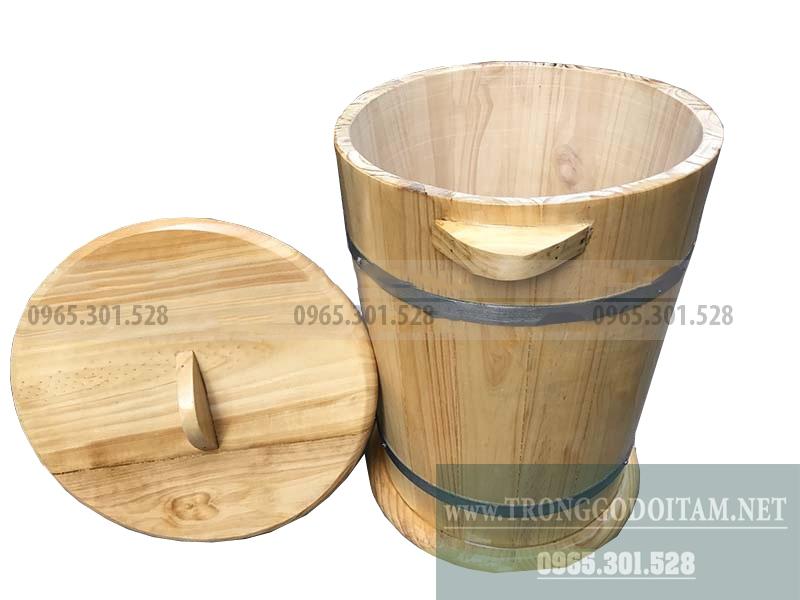 Giá thùng gỗ đựng gạo rẻ và chất lượng.
